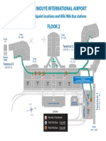 HNL Security Checkpoint Locations & Wiki Wiki Bus Stations 2019