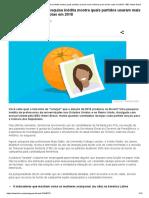 Candidatas Laranjas_ Pesquisa Inédita Mostra Quais Partidos Usaram Mais Mulheres Para Burlar Cotas Em 2018 - BBC News Brasil