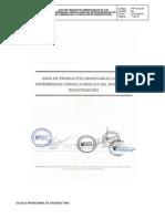 Guia de Productos Observables 2019 - Ix Ciclo