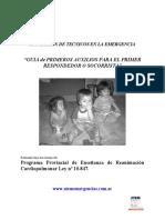 GUIA DE PRIMEROS AUXILIOS