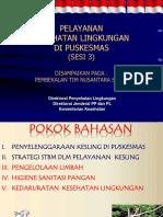 3. Materi Nusantara Sehat Kesling Sesi 3