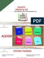 Analisis catedra de paz en Colombia