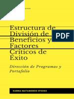 Estructura de División de Beneficios y Factores Críticos de Éxito
