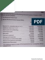 Fire Insurance Revenue Account