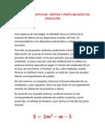 EJERCICIO DE PUNTO FIJO - NEWTON - PUNTO SECANTE CON APLICACION.docx