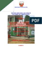 Estudio de Suelos Colegio Emblematico i.e.p.s. Carlos Patrico Olortegui Saenz Caballococha