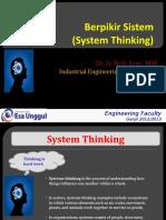 Berpikir Sistem (Dasar Perecanaan Rekayasa Teknik)