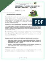 FILOSOFÍA CONTEMPORÁNEA. FILOSOFÍA DEL SIGLO XIX.docx