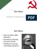 Sociologia e Antropologia FASC - Karl Marx e a esquerda socialista.ppt