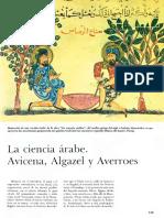 La Ciencia Arabe-Avicena Algazel (Alghazali) Averroes