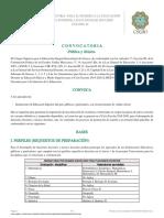 Convocatoria COI EMS 19