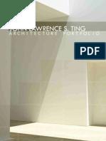 Architect's Portfolio Sample