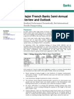 Fitch - Major French Banks Semi-Annual Review and Outlook