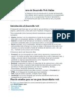 Bienvenidos al curso de Desarrollo Web Online.docx