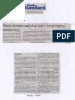 Manila Standard, Mar. 21, 2019, House retrives budget version to break impasse.pdf