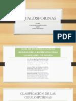 Cefalosporinas Apendicitis