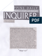 Philippine Daily Inquirer, Mar. 21, 2019, Arroyo urges friendlier  goverment stance on mining.pdf