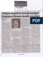 Philippine Daily Inquirer, Mar. 21, 2019, Palace urged to break budget impasse, House recalls version.pdf