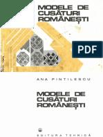 Ana Pintilie - Modele de cusaturi romanesti partea I.pdf