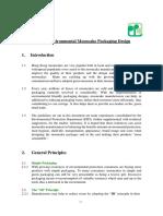 Environmental Guidelines on Mooncake Packaging Design