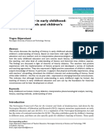 methods of psychological knowledge of the preschool child