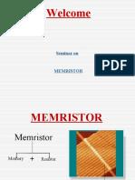 Memristor Seminar
