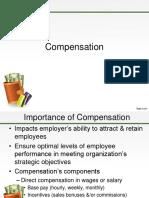 Lesson 12 Compensation