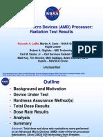 1140_LaBel_ AMD Processor Radiation Test Results