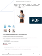 Aparat Electrostimulare Compex Fit 5.0 - Ina Medical Sport