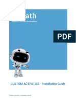 UiPath Go Installation Guide Custom Activities