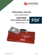 Manual ZRM 6006 en v1.0