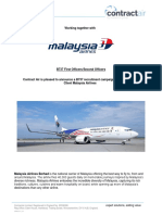 Malaysia Airlines - B737 First Officers