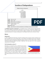 Philippine Declaration of Independence