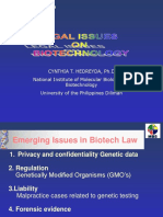 Biotech Regulation