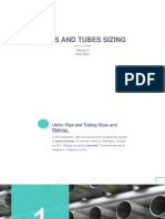 Pipe and tube sizing