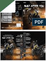 Honda Cb Hornet 160r User Manual / owners manual