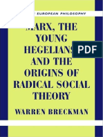 Breckman 1999 Marx, The Young Hegelians and the Origins of Radical Social Theory