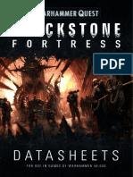 Blackstone Fortress - Datasheets