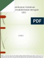 Gambaran Kelainan Dentomaksilofasial dengan USG