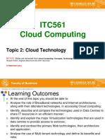 Cloud Enabling Technology
