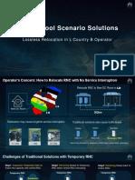 RNC in Pool Scenario Solutions - Lossless Relocation