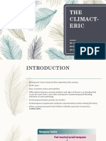 The Climacteric