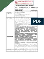 PORTFÓLIO REESTRUTURAÇÃO DA EMPRESA DE IMPLEMENTOS AGRÍCOLAS COLHEITA