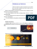 Distâncias No Universo