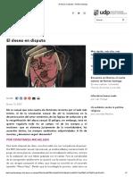 El Deseo en Disputa - Revista Santiago