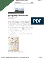 Rockhounding Vancouver Island
