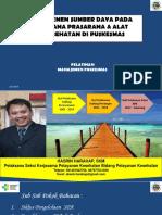 Ppsdm Manajemen Spa Puskesmas Juli 2017