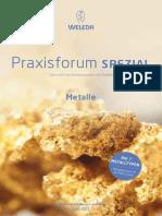 Praxisforum Spezial Metalle
