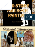 Old Stone Age Rock Painting