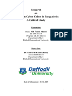 Prevention  of Cyber Crime in Bangladesh cover page.docx